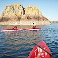 Kayaking, St Brelade's Bay