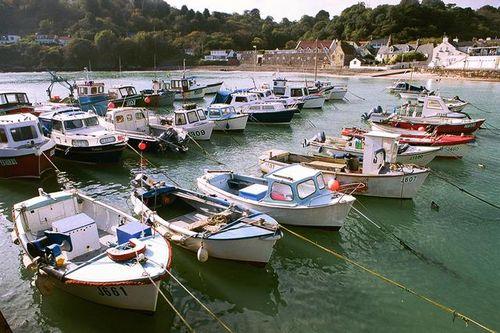 Rozel harbour