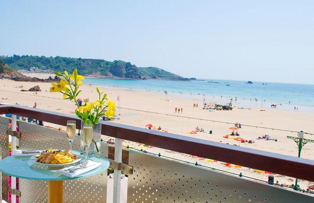 Sea view room at Hotel L'Horizon