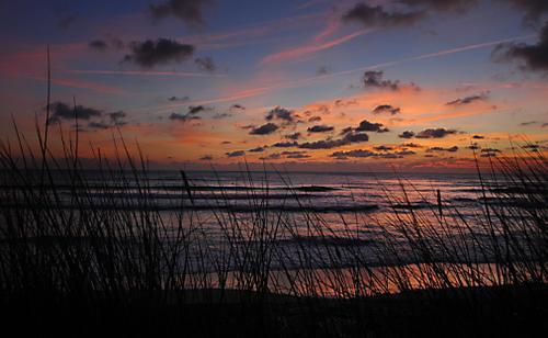 Sunset at St Ouen's Bay